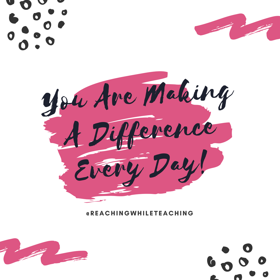 You are a Difference Maker!
