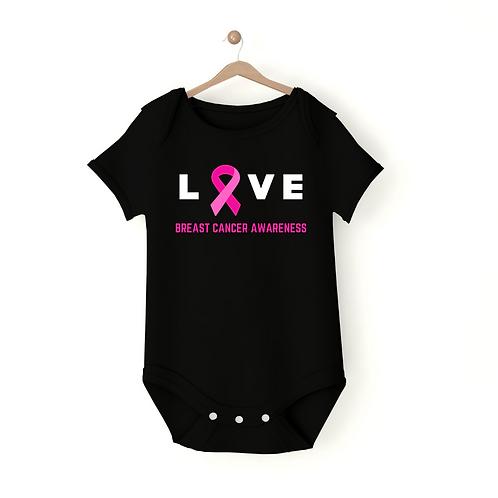 Love Baby Onesie: Breast Cancer Edition