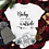 Thumbnail: Baby It's Cold Outside White & Grey Tee