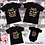 Thumbnail: Personalized Family Christmas Believe Shirts