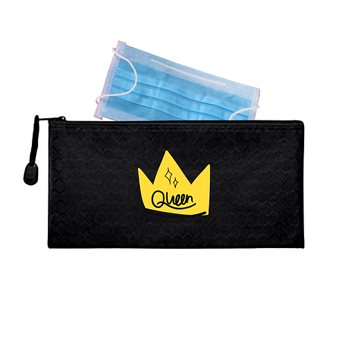 Queen Waterproof Mask Pouch