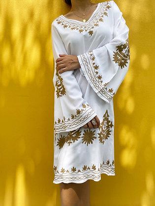 Vestido Varanasi Blanco