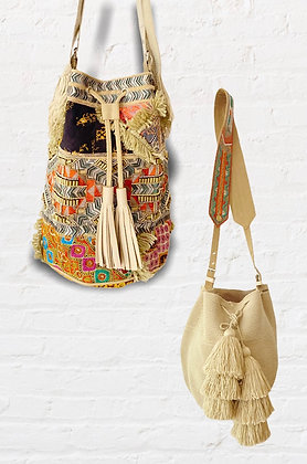 INCO mix y bags beige