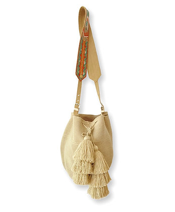 Mochila INCO Wayuu Beige