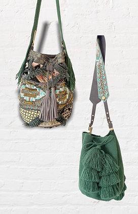 INCO Mix y Bags verde gris