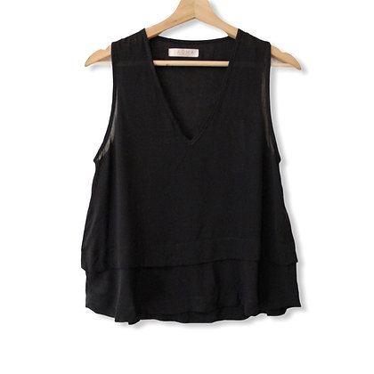 Blusa Basic Negra