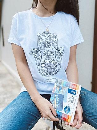 T-Shirt Camisa Hamsa