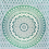 Thumbnail: Mandala 210x240 cm
