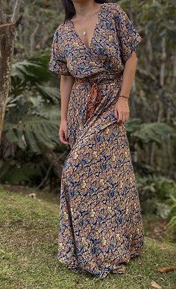 Vestido Kadapa Tierra