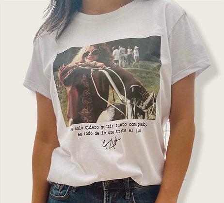 T-shirt Camisa Janis Joplin