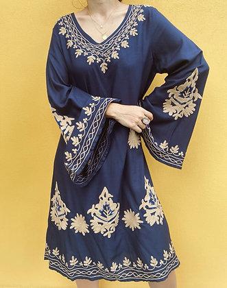 Vestido Varanasi Azul