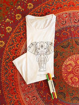 Kit Pinta Camisa Mandala Elephant Two
