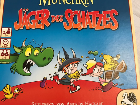"""""""Munchkin - Jäger des Schatzes"""" von Pegasus Spiele"""