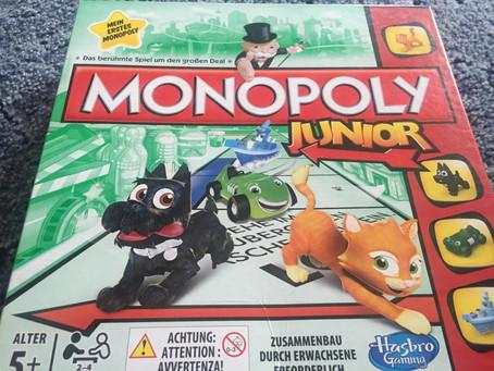 """Monopoly - Junior"" von Hasbro"