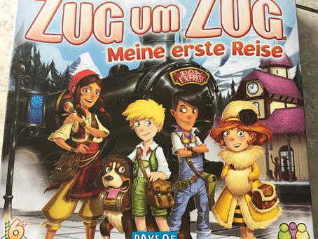 """""""Zug um Zug - Meine erste Reise"""" von Days of Wonder!"""