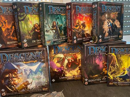 Descent - Die Reise ins Dunkel (2. Edition) von Fantasy Flight Games