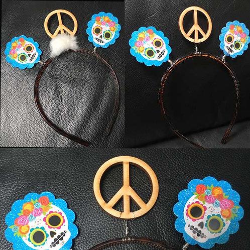Dia de los Muertos Peace Tiara