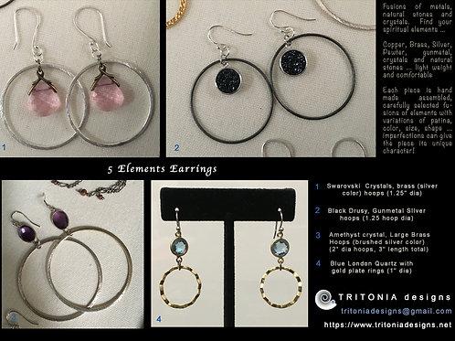 5 Elements - earrings