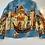Thumbnail: VENICE Painting Denim Jacket