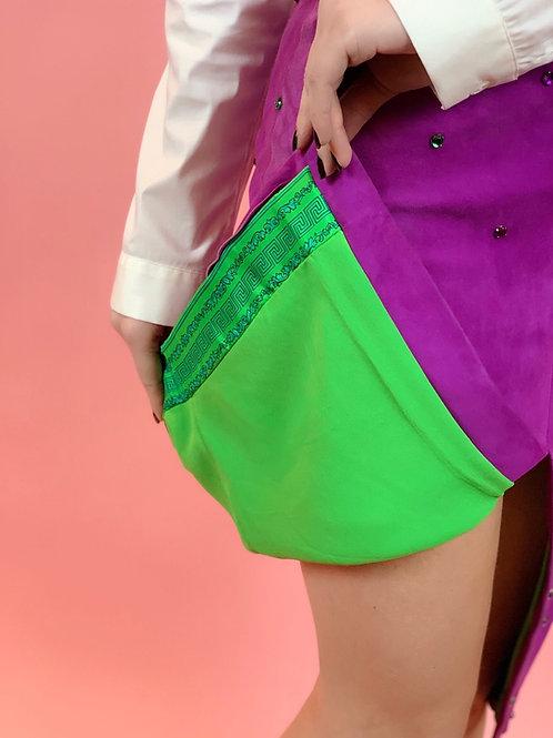 VERSACE Suede Skirt