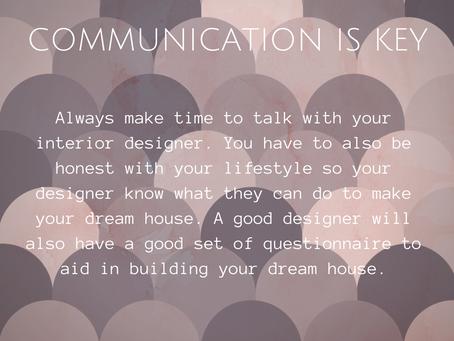 Perfect Interior Designing with Your Interior Designer 101 - Communication is Key