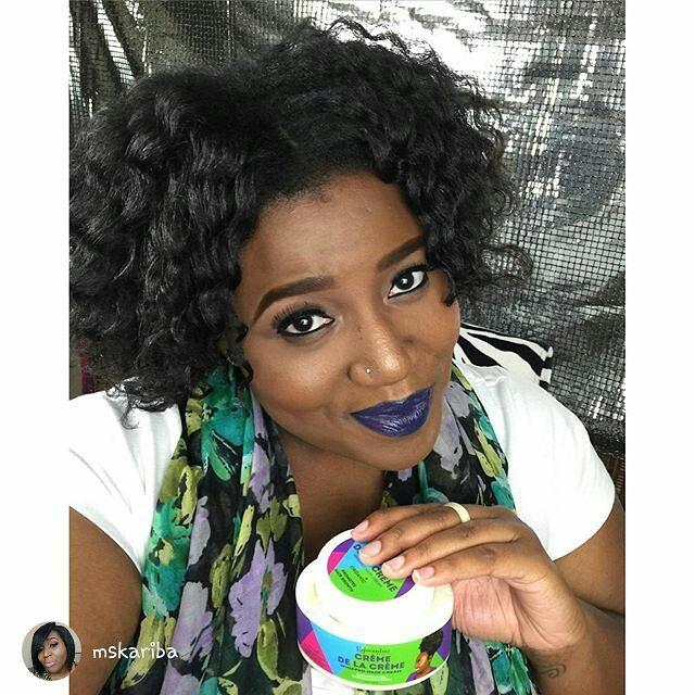 repost from _mskariba_My hair loves _egocentricbeauty products