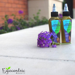 Coconut oil Infused with 12+ herbs proven to strengthen hair, promote growth and prevent dry scalp