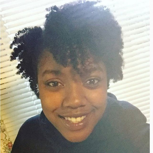 Twist out results on point using the Egocentric Beauty Combo pack!👌💜 Lovely!! She says _What I lov