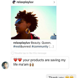 We love when you're loving our products 😍! According to _hear_me_owt we are out here saving life's,