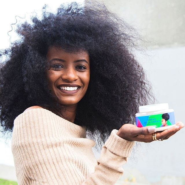 Keeping your hair moisturized is the key to retaining length. Ladies, E.B