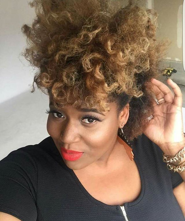 yehhhs hair! Egocentric Beauty _mskariba looks simply BOMB with her new style! Using those Egocentri