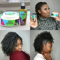 I promise, these products have my hair on fleek at all times!🙌 No product buildup, stays well condi