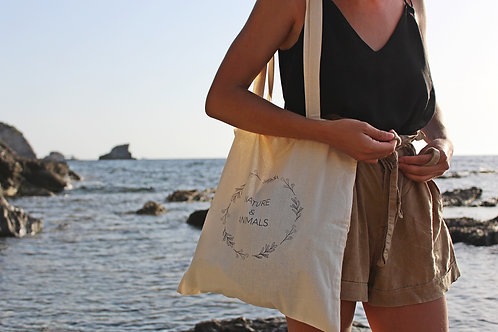 "Tote-bag écolo ""Nature & Animals"""