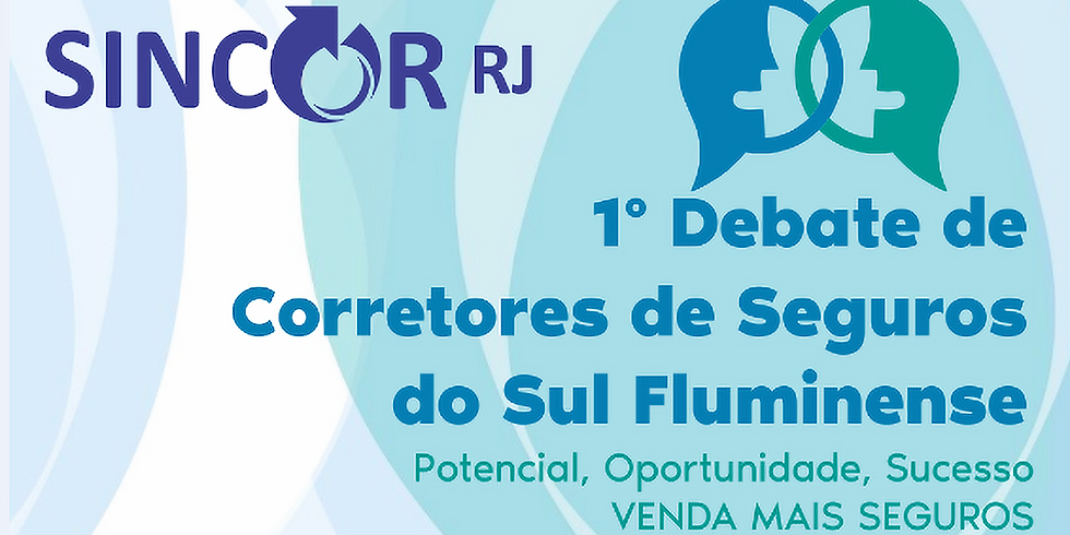 1º Debate de Corretores de Seguros do Sul Fluminense