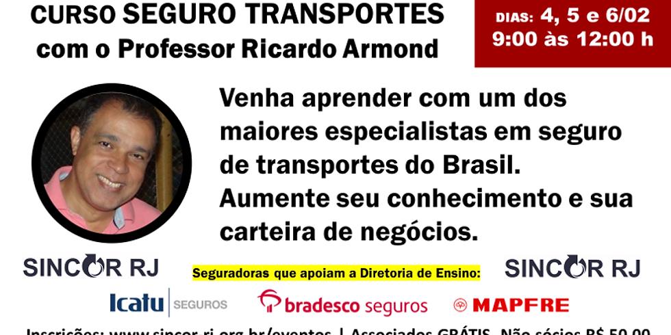 CURSO DE SEGURO TRANSPORTES