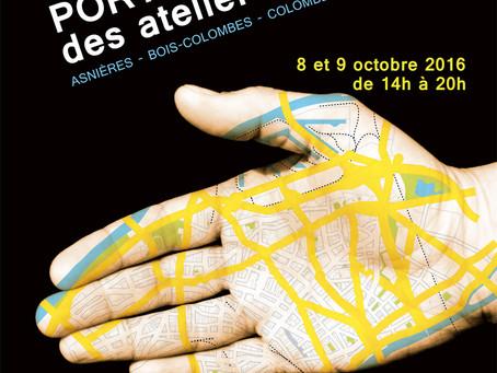 Portes Ouvertes des Ateliers d'Artistes les 8 et 9 octobre