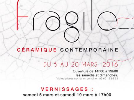 """""""Fragile"""", prochaine exposition"""