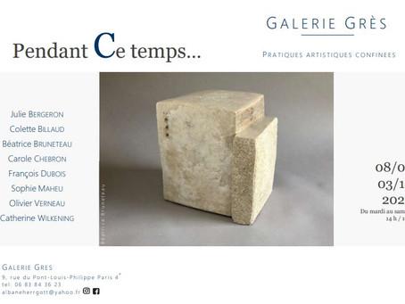 Exposition Galerie Grès, Paris 4°