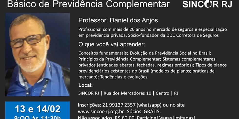 BÁSICO DE PREVIDÊNCIA COMPLEMENTAR
