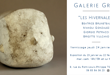 Exposition à la Galerie Grès