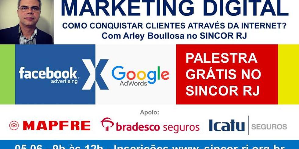 Palestra Marketing Digital - INSCRIÇÕES ENCERRADAS