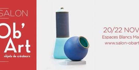 20-21-22 novembre, salon Ob'Art à Paris