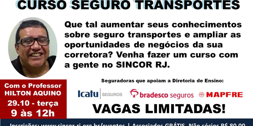 CURSO SEGURO TRANSPORTES