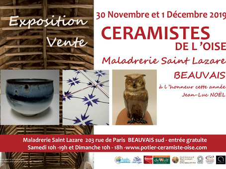 Expo-vente à Beauvais, 30 nov. 1 déc.