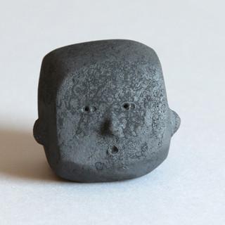 penseur noir 10 cm