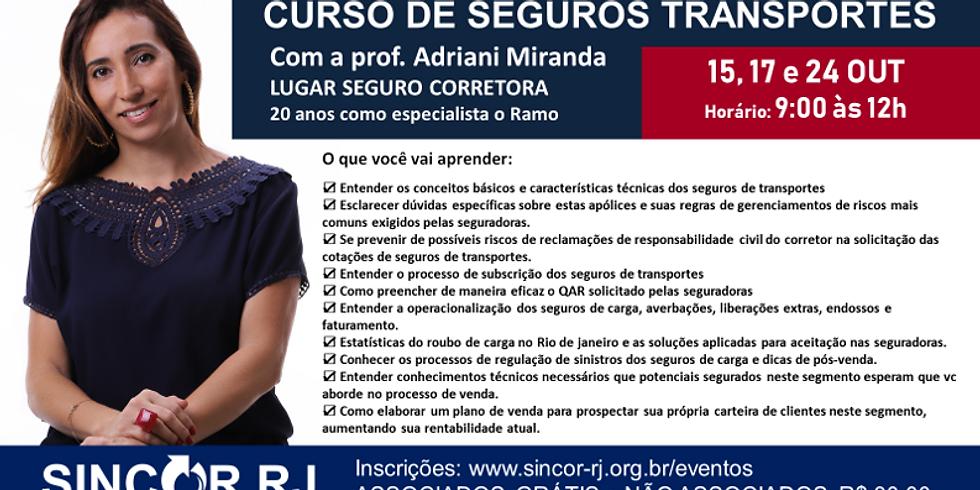 CURSO DE SEGUROS TRANSPORTES