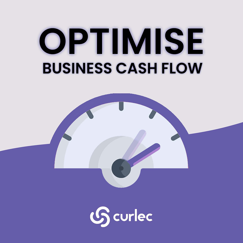 Cool graphic on optimising business cash flow