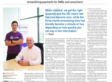 Curlec Featured on Malaysia SME!