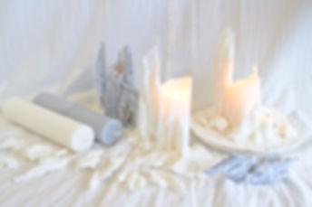 empfange candle  ich