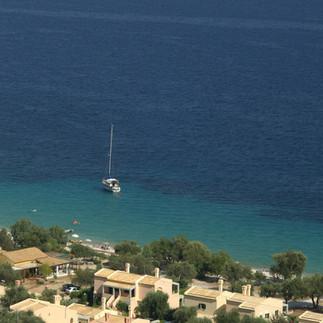 Riviera Barbati πανοραμική μεγάλη απόσταση
